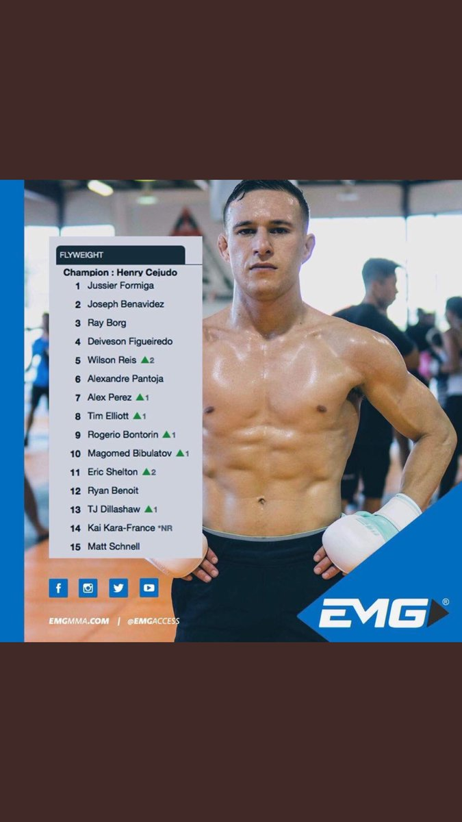 Should be healthy soon! I'd love to give another guy from my season of TUF a chance to move up the rankings!! What do you say @kaikarafrance ??