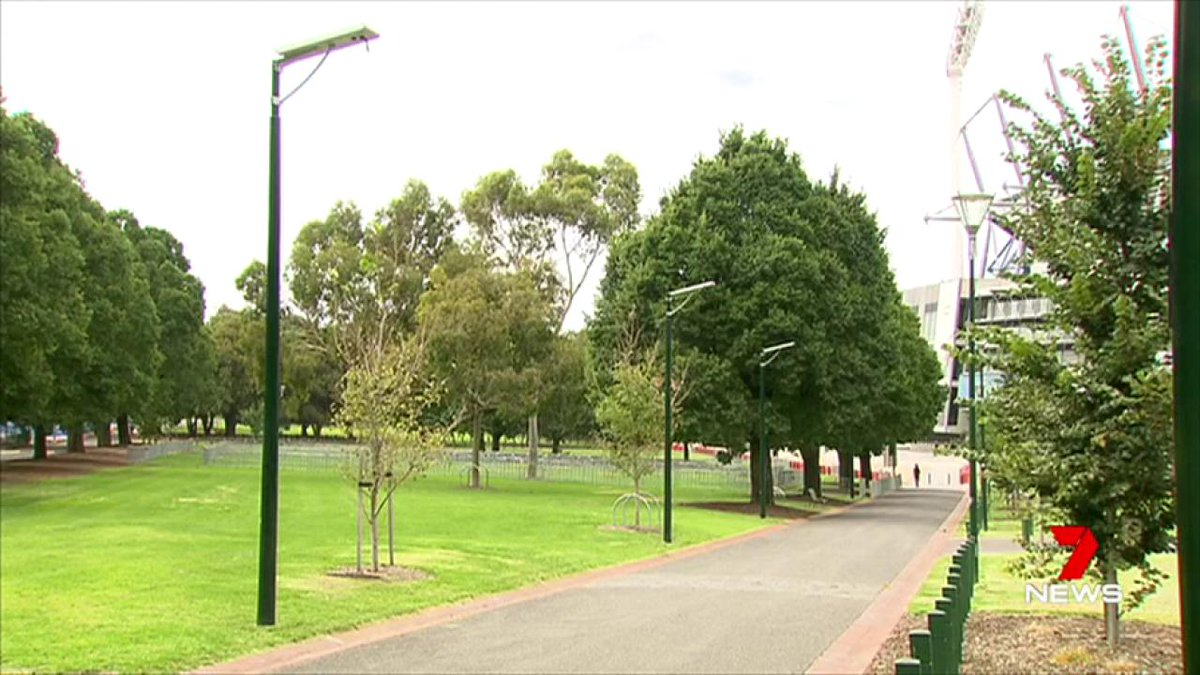 The @MCG has had a security upgrade in Yarra Park. New cameras and lights will improve safety during major events after a series of violent incidents. @NickMcCallum7 #7News