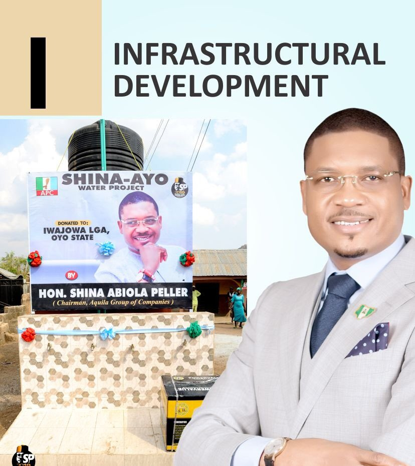 @Shinapeller will use his office to facilitate collaboration with the executive arm of government to bring about infrastructural development and economic improvement. He will propose Policies that will revive the Ado Awaye suspended lake. #SHINAAYO2019