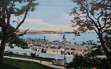#Vintage possibly #Edwardian postcard of #Scarborough taken from the St Nicholas Gardens. #seaside #Yorkshire Yorkshire<br>http://pic.twitter.com/BQv0z5r9KP