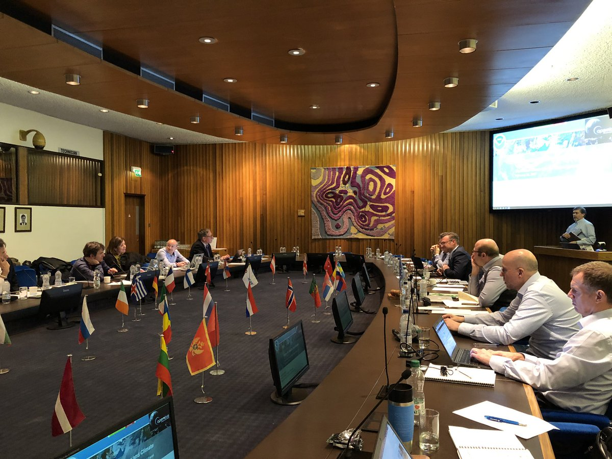 Today @ECMWF with #C3S Expert Panel having strategic discussions around the future of the climate change service. Looking forward to day 2! @CopernicusECMWF