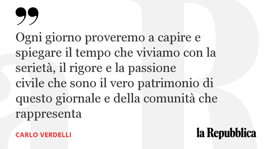 Un anno bellissimo, l'editoriale di Carlo Verdelli https://t.co/GBBcf0v4Hq