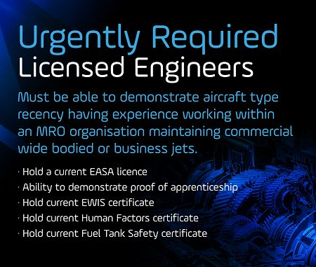URGENT: We have multiple Licensed Engineer requirements based in the UK and internationally. If you fit the below criteria contact the team today: Project.Team@aeropeople.com or 01223 373333 #engineers #aviationmaintenance #aviationjobs #jobsearch #easa #engineering #mro