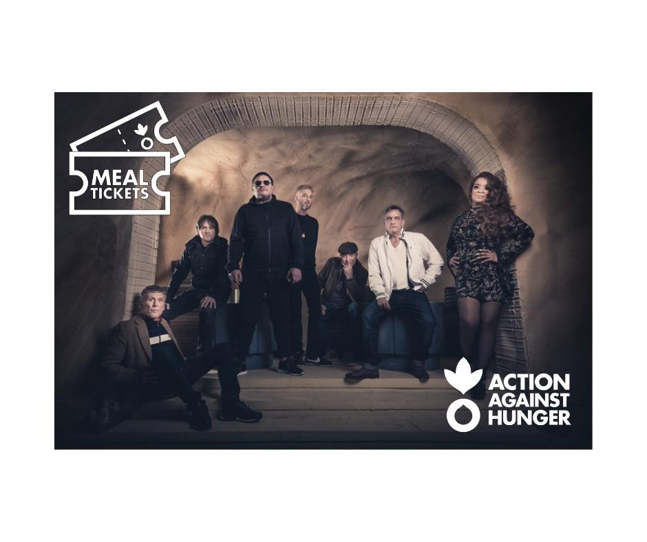 Happy Mondays are dedicating their 2019 tour to Action Against Hunger's MealTickets campaign to help save lives of malnourished children across the world. Together with fan donations, funds raised will directly help our life-saving projects worldwide: http://againsthunger.uk/mealtickets-HappyMondays…