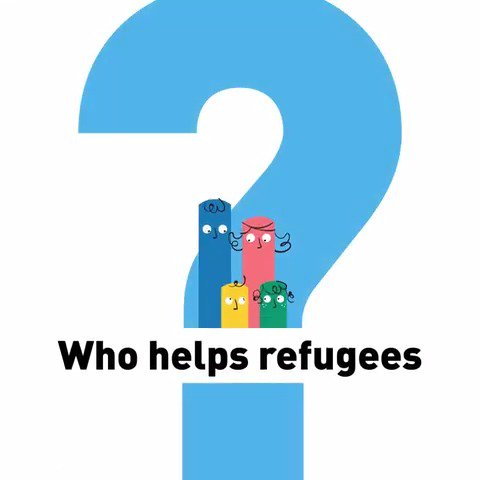 It's #WorldRefugeeDay. So how does UNHCR help refugees?