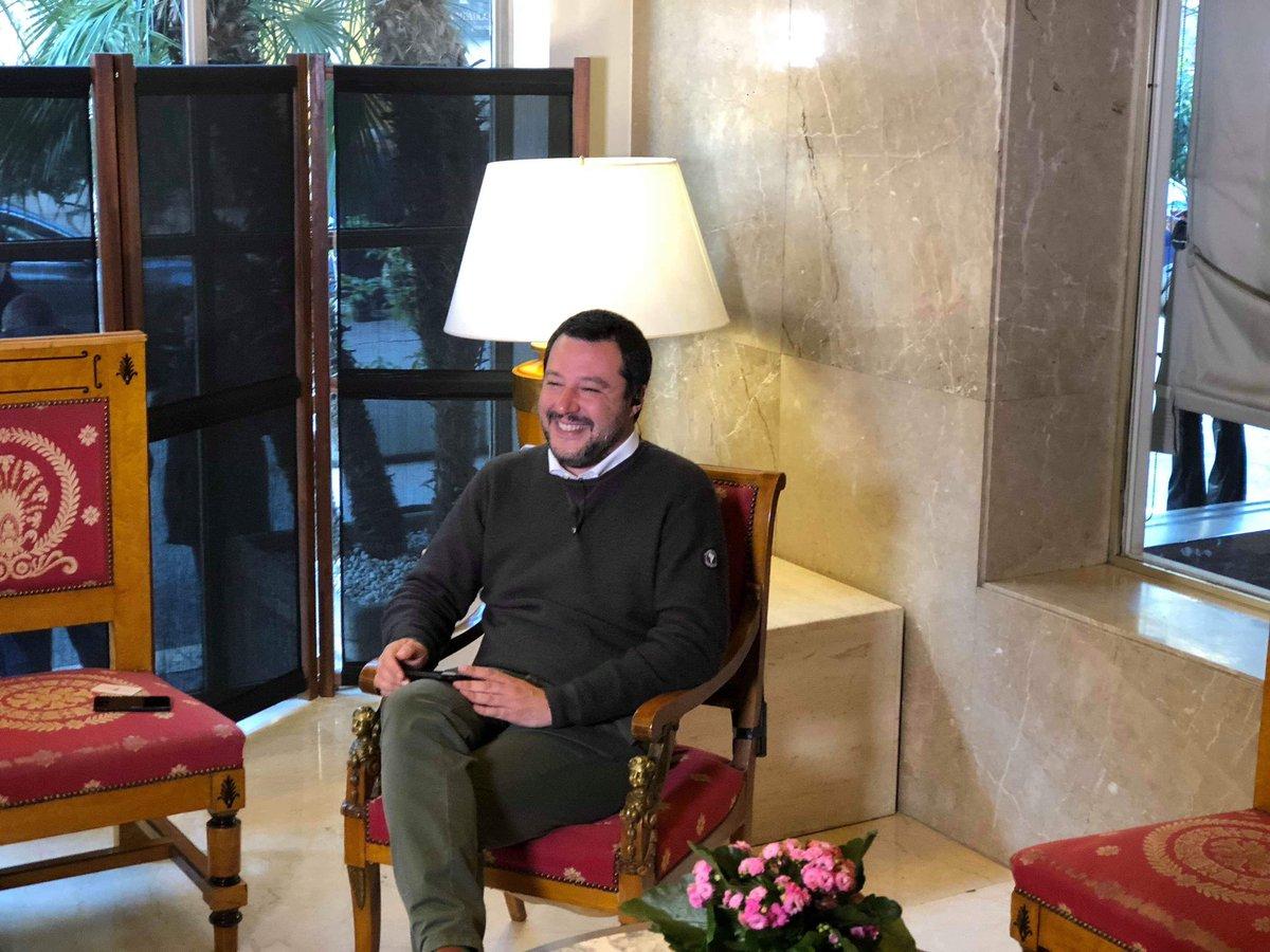 Matteo Salvini's photo on #agorarai