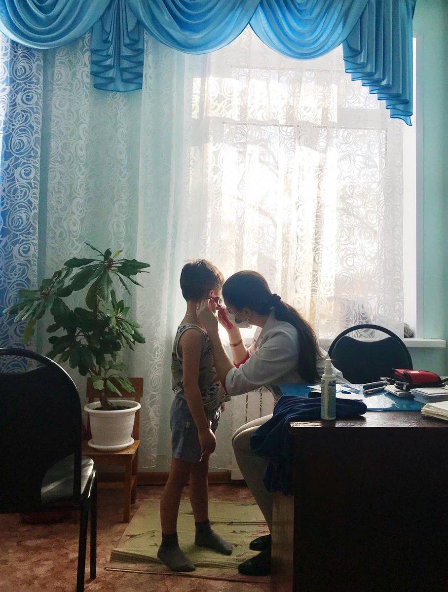 Специалисты Центра здоровья ОДКБ @LebedkoAM обследовали 29 воспитанников д/с Ёлочка #АгитпоездБазарносызганскийрайон https://t.co/7HzYMsxk7f
