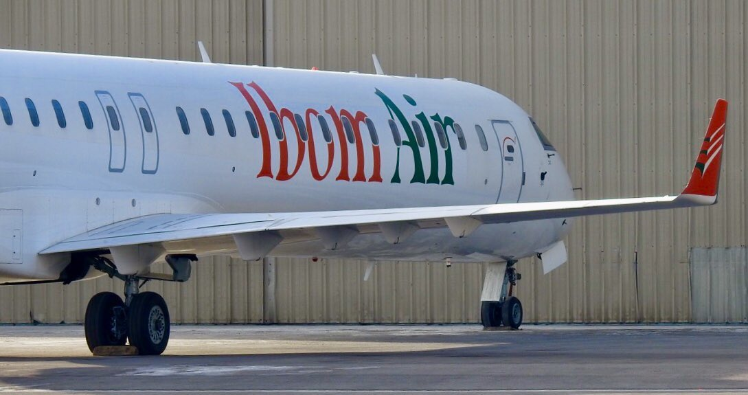 Another first from the @OfficialPDPNig as @MrUdomEmmanuel  of @PdpAkwaIbom launched #IbomAir. Three aircraft already at various airports across the country. Where is Nigeria Air that @MBuhari of @OfficialAPCNg scammed Nigeria with? @OfficialAPCNg is a fraud