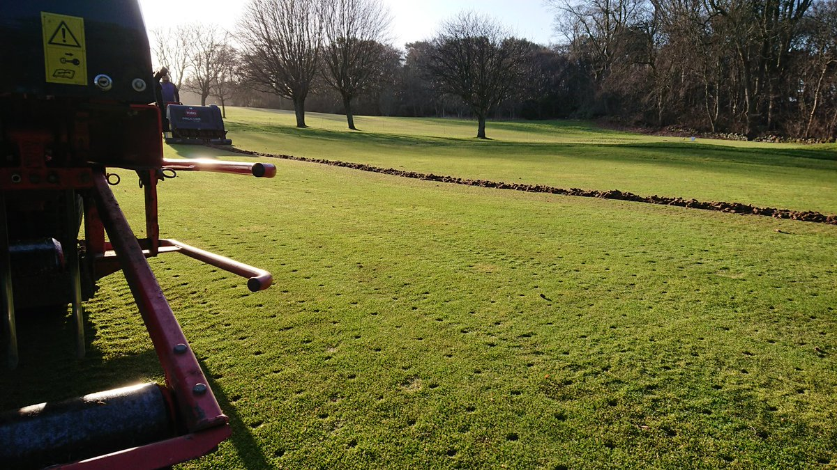 test Twitter Media - Poor weather forecasts over the next couple of weeks has resulted in us having to bring forward the scheduled coring and graden prodecures to this week. We will try to limit disruption as much as possible. Sorry for any inconvenience. Keep up to date with work on the website. https://t.co/PvPXY5bJHt