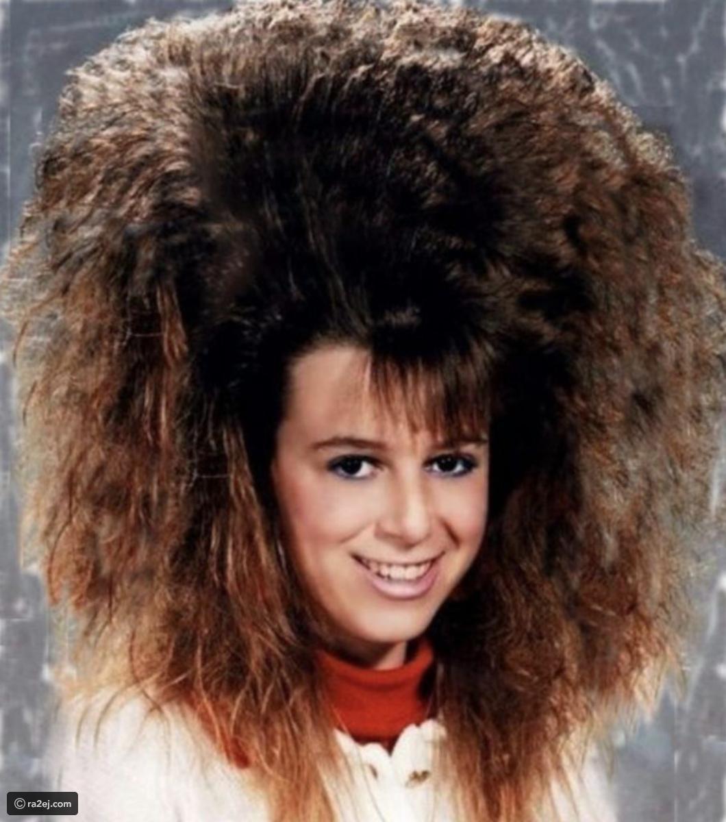 صور مضحكة كأنها من كوكب آخر أغرب وأضخم تسريحات الشعر في الثمانينات