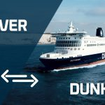 Image for the Tweet beginning: Dover<>Dunkerque departures are operating to