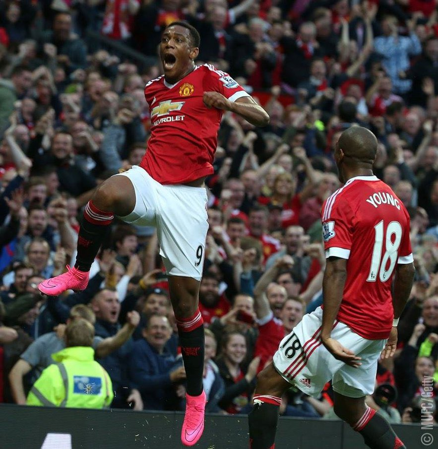 Sunday's atmosphere is going to be electric at Old Trafford #MUFC #Martiallllll #OhhhYesssss