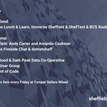 Image for the Tweet beginning: Upcoming digital events and meetups