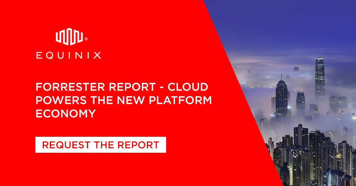 Equinix Poland's photo on #cloud