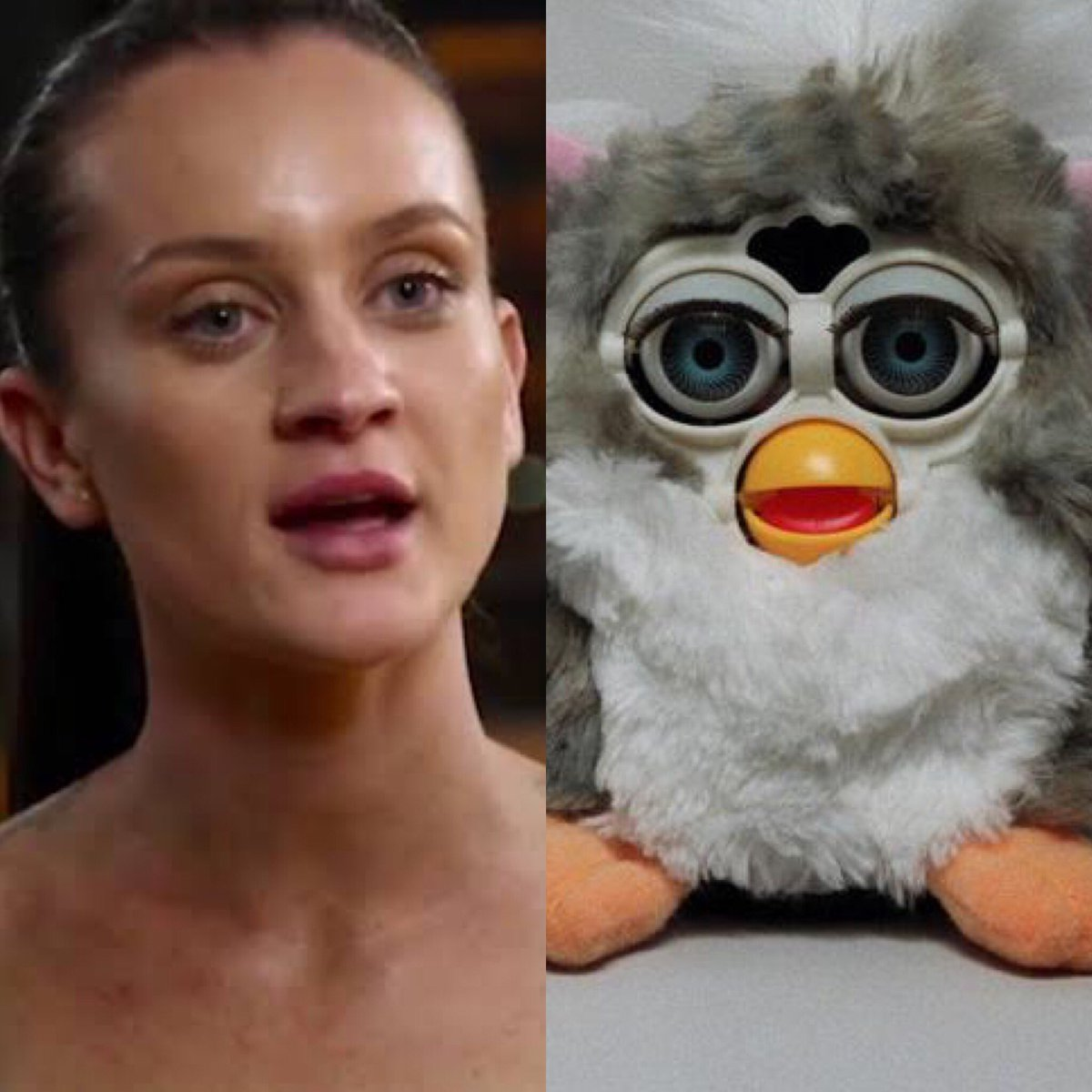 Anyone else notice how Ines looks like a Furby? #mafs<br>http://pic.twitter.com/D9W30clCKV