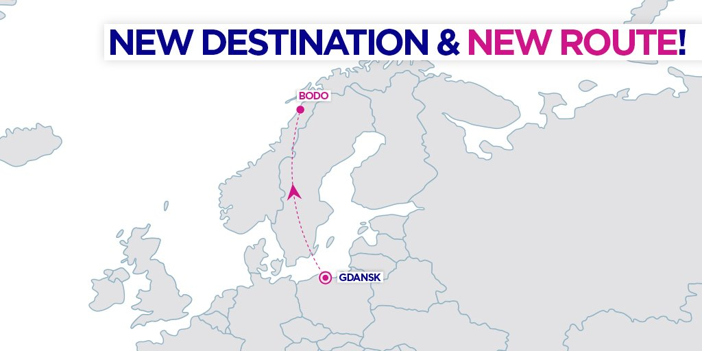 Wizz Air Adds A New Route From Gdansk To Its Extensive Polish Network Bodo In Norway Aviation24 Be
