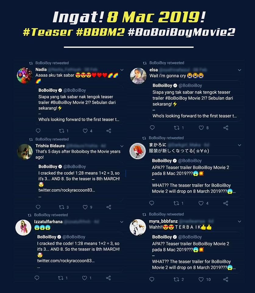 Boboiboy On Twitter Yeah Lagi 15 Hari Ke Teaser Boboiboymovie2