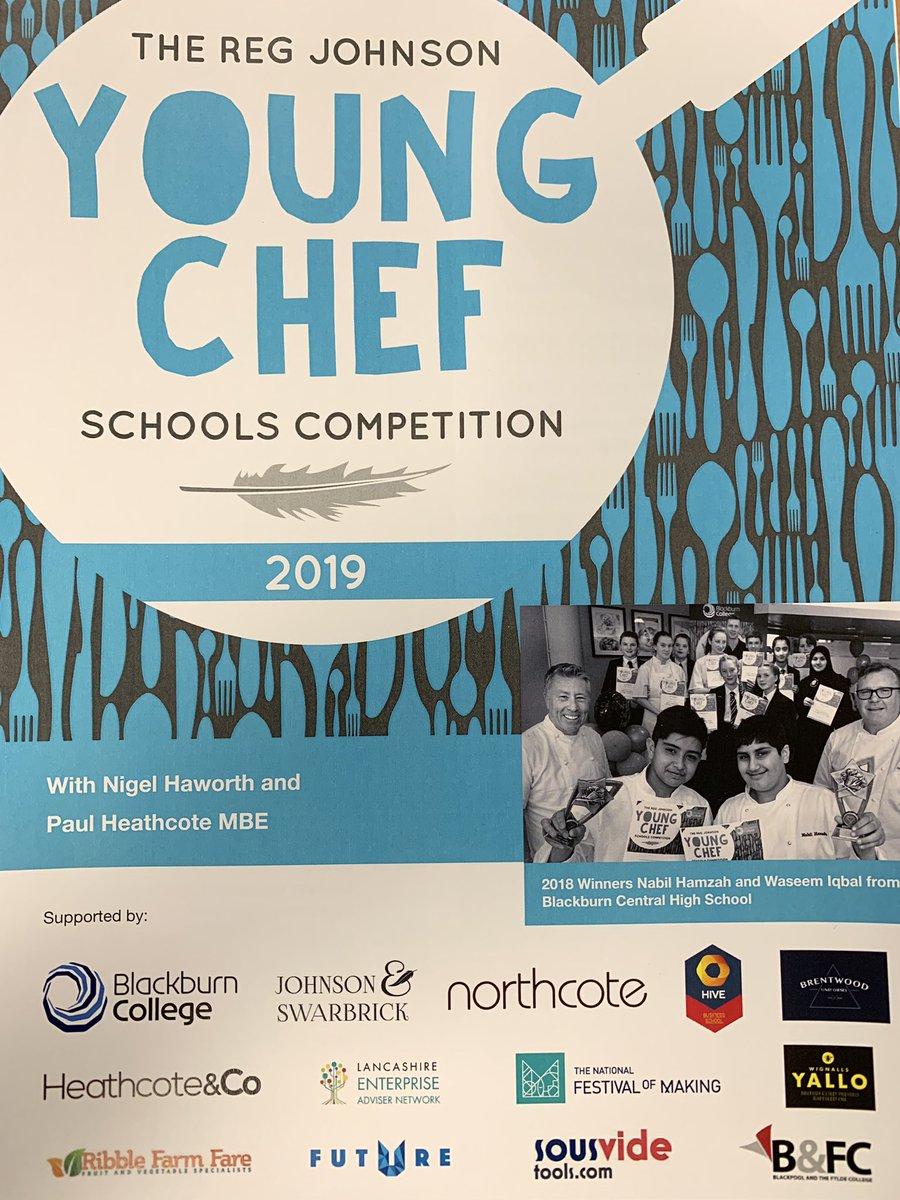 Fantastic to see the competition running again this year, inspiring #Lancashire's young people re food and careers! @NigelHaworth @paul_heathcote @InspiraKayV @CareerEnt @MarketingLancs @lancslep #inspiringlancashire