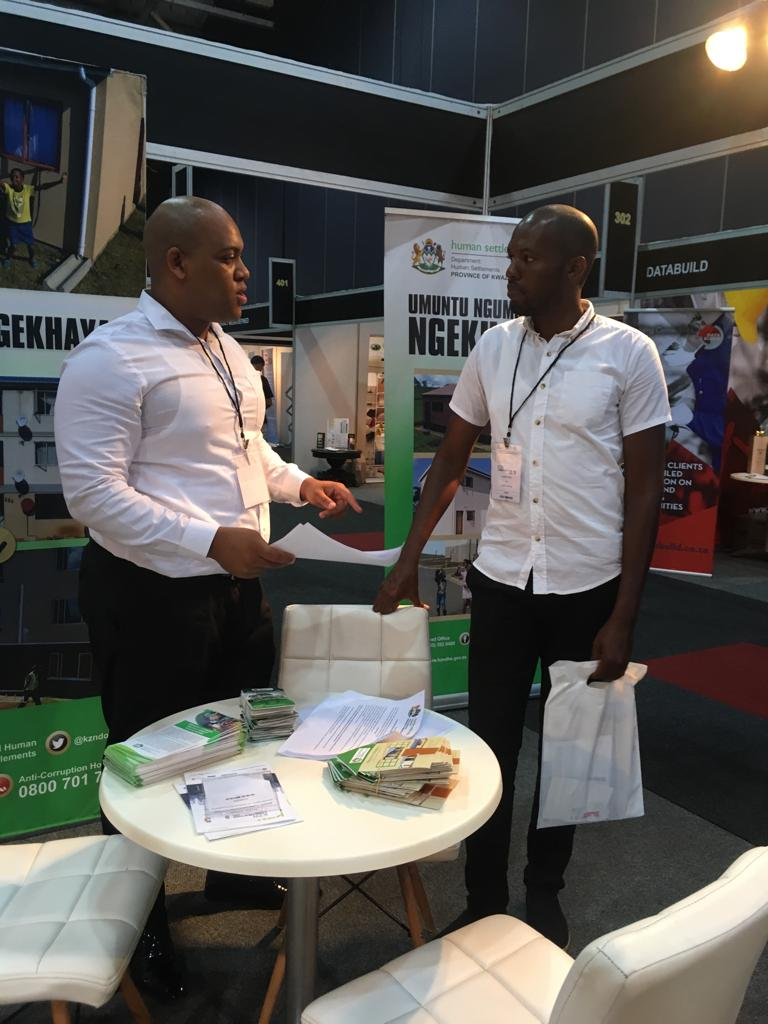 0ae5f391c5b ... Construction Expo has started. Officials from KZN Department of Human  Settlements are present at the event.Below are images of those officials ...