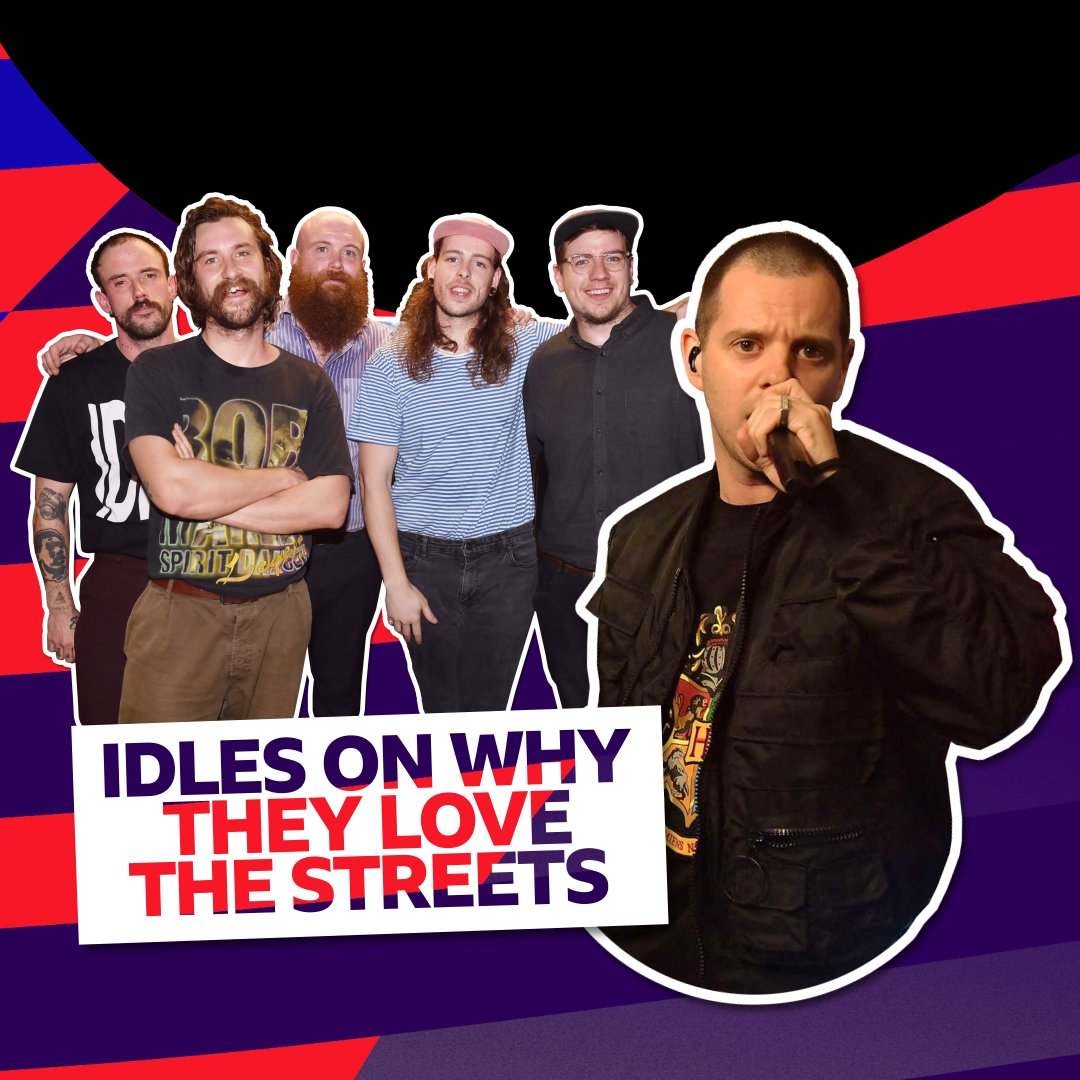 What's your favourite The Streets track?   @IDLESband tell @BBCR1's #LiveLoungeUncovered with @AbbieAbbieMac how @MikeSkinnerLTD inspires them 👉https://bbc.in/2DS4C56