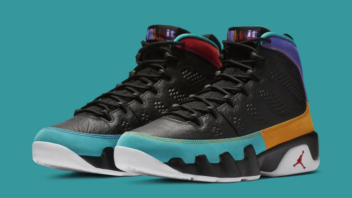 A vintage ad campaign inspired these new Air Jordan 9s releasing next month: https://t.co/bEU91wtIYW
