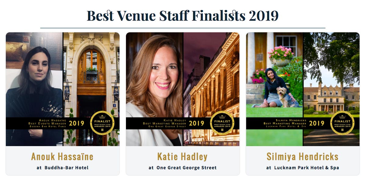 Proud of our very own Head of Marketing & PR Katie Hadley who is a finalist in the global luxury Prestigious Star Awards #PrestigiousStarAwards