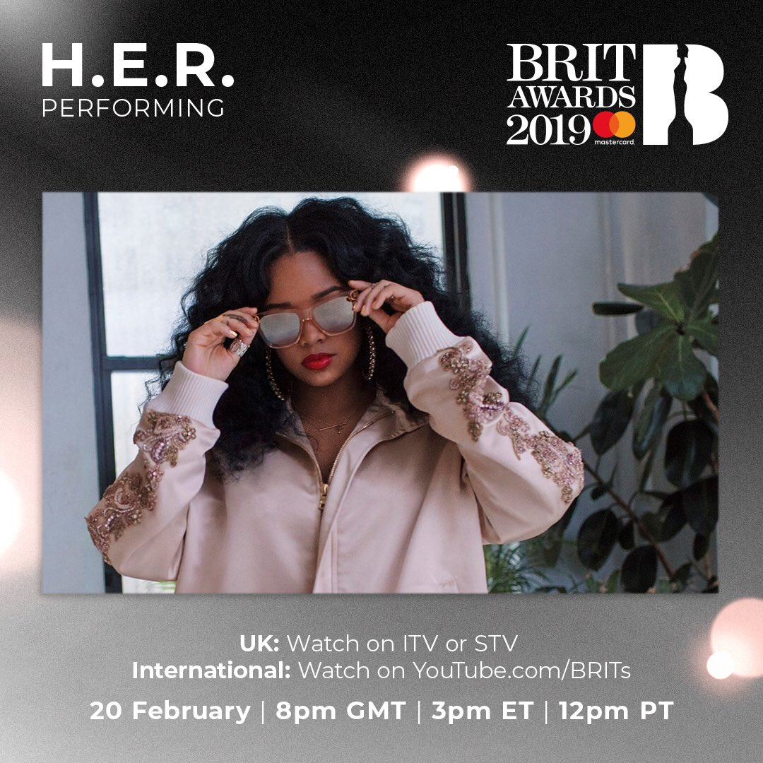 So excited to be in the UK and performing with @JessGlynne at the @BRITs TONIGHT! #BRITs