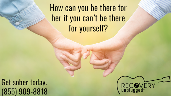 . @RecoveryUnplugd knows that drugs & alcohol can take everything away from us, including our person. Get sober, start living again & be the partner your gf needs. Call now. (855) 909-8818 https://www.recoveryunplugged.com  #sponsored