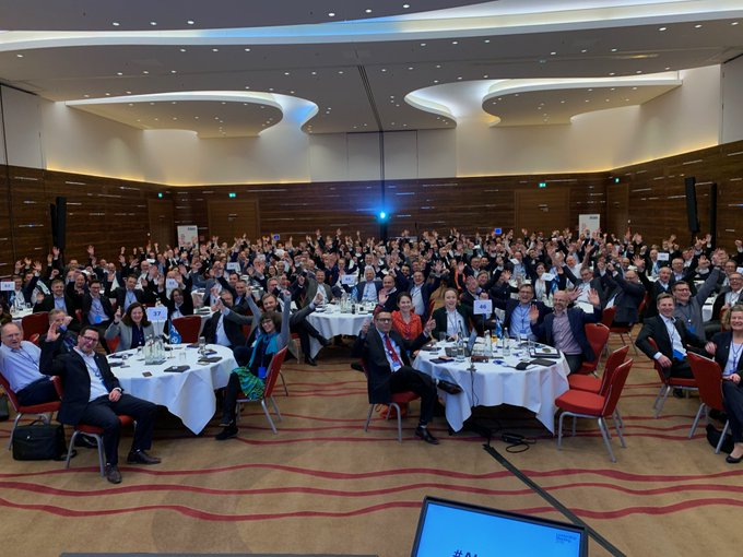 Welcome to the future! Atos Leadership Meeting 2019 @Atos_DE in Frankfurt. #AtosLM19...