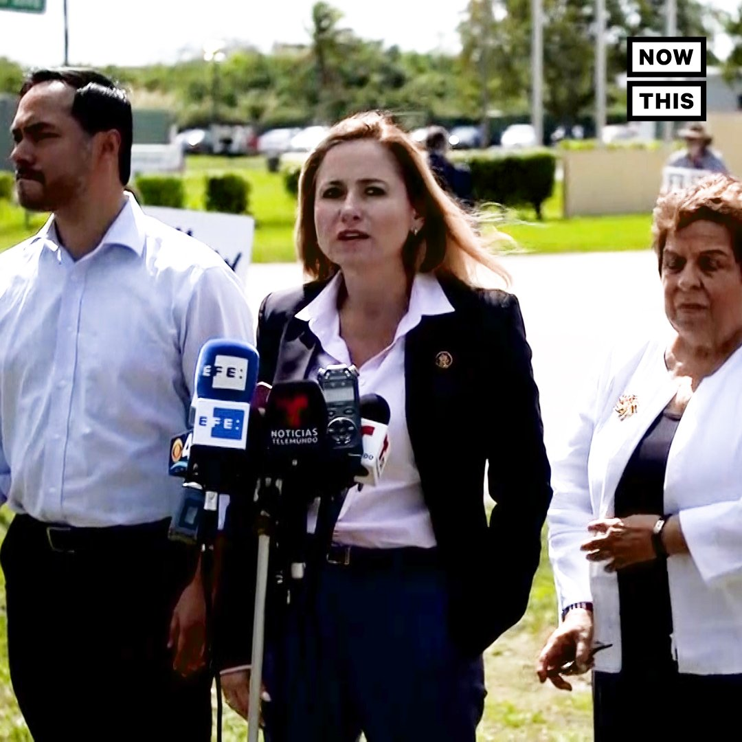 These reps were devastated after seeing the conditions children live in at the country's largest detention facility for migrant kids