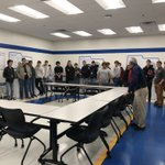 Image for the Tweet beginning: #students learning about #manufacturing in