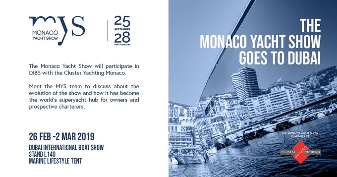 Monaco Yacht Show Accueil