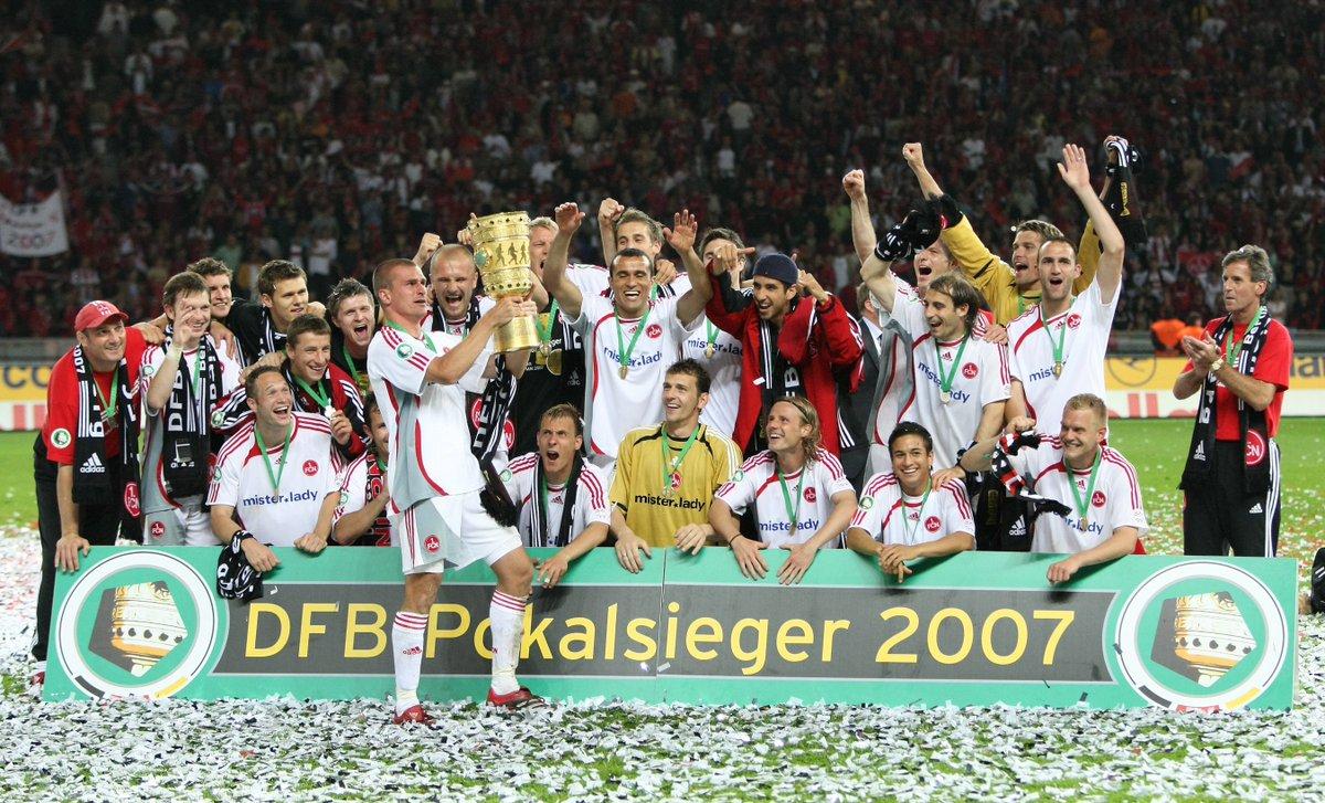 Und das nächste Geburtstagsking! 🎉  Pokalsieger und waschechter Cluberer: Wir wünschen dir alles Gute zum 43. Geburtstag, Marek #Nikl! 🎁   #fcn