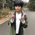 Image for the Tweet beginning: ダブルピースは反則🙃🙃  #平手友梨奈 #欅坂46