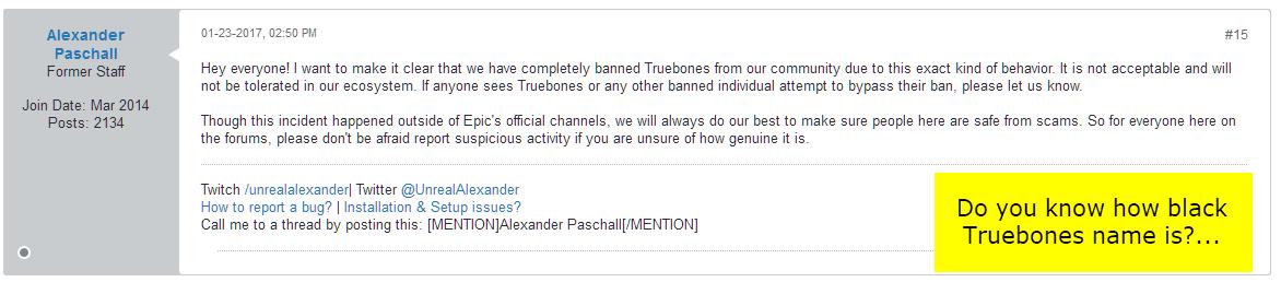 Truebones Avatars