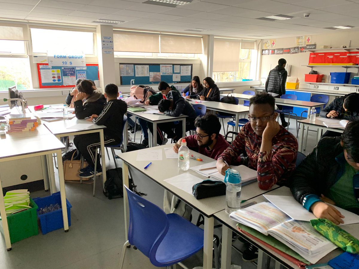 """We're very proud of the effort Year 11's from @CORERockwood are putting in this week. They've been coming in for extra revision sessions during the half-term.   """"Success is the sum of small efforts, repeated day in and day out."""" - #RobertCollier   #COREexcellence"""