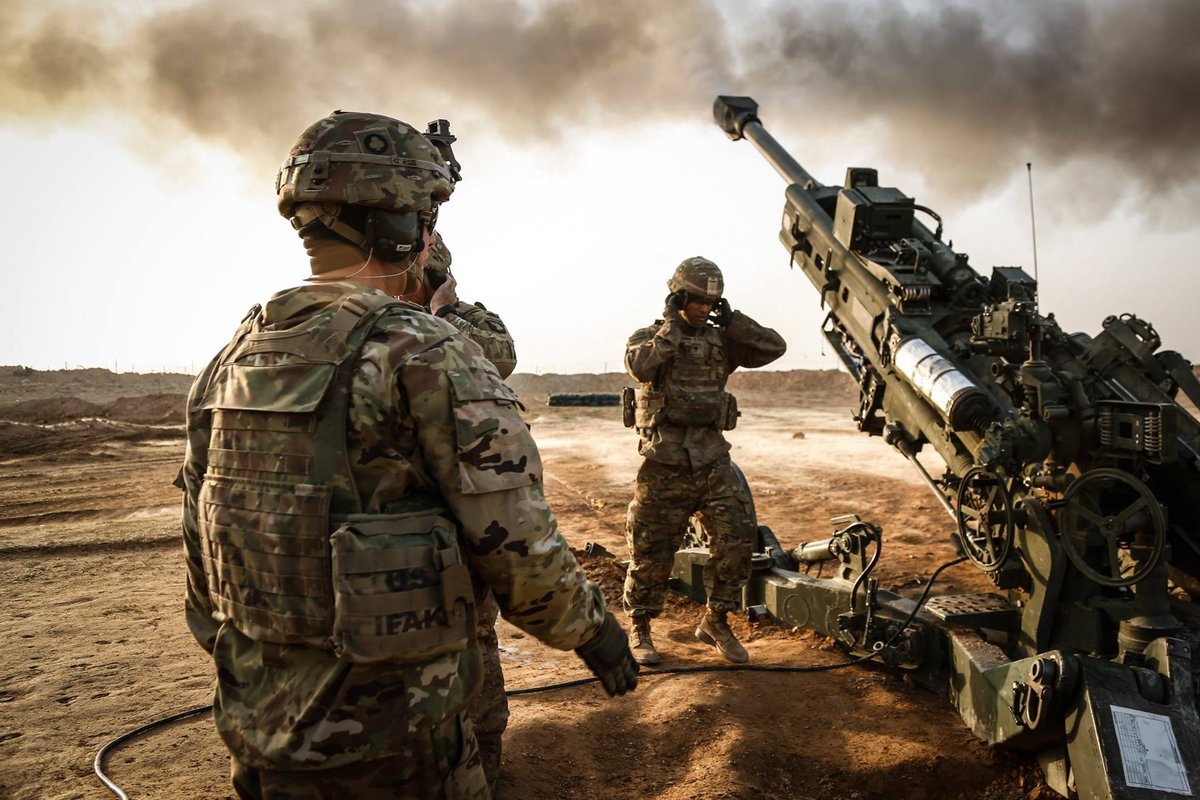 U.S. Army Soldiers • Fire M777A2 Howitzer • Yakima Training Center Nov. 2, 2020