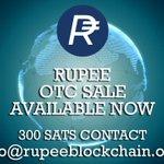 Image for the Tweet beginning: Rupee #Rupee OTC ! Please