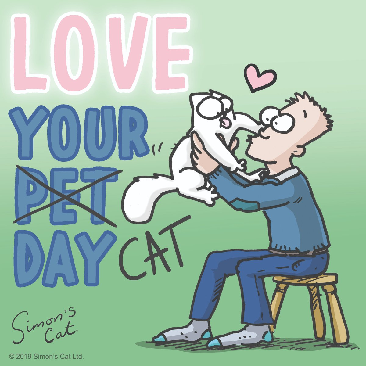 Every day is #LoveYourPetDay 🥰
