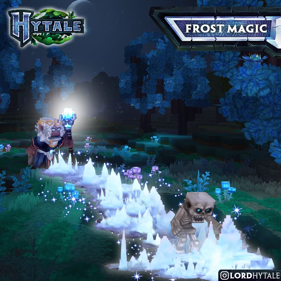lordhytale Hytale Frost Magic ❄️❄️❄️ Your Lord Hytale