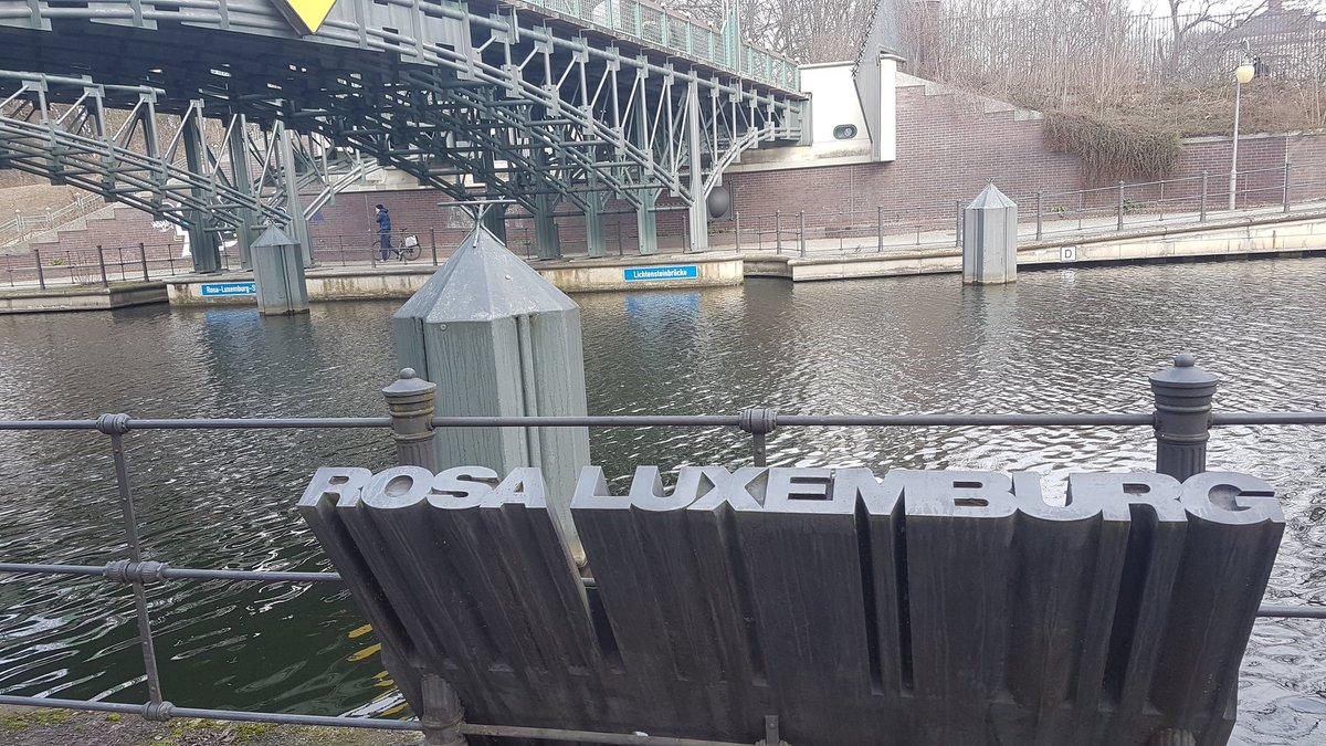 Resultado de imagen para ROSA LUXEMBURGO puente