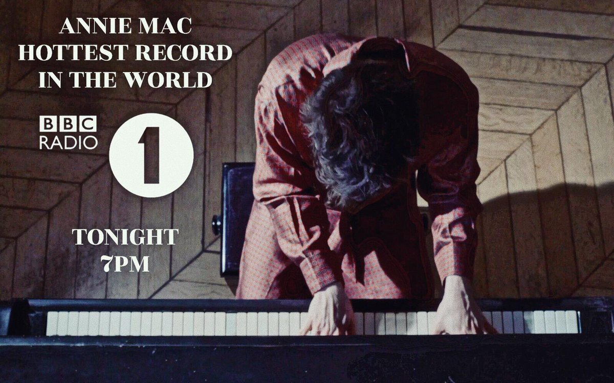 Literally can't wait for you all to hear this new song, it's one of our favourites on the new record so make sure to tune in to @AnnieMac on @BBCR1 today from 7pm!