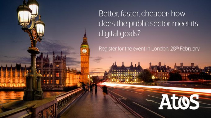 Sign up to our #publicsector conference on 28th February in London to understand how...
