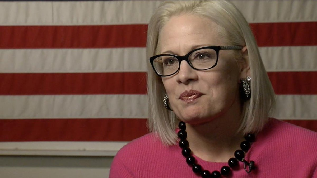 One-on-one with #Arizona Senator Kyrsten Sinema: https://t.co/Bi2vEhaUtK #abc15