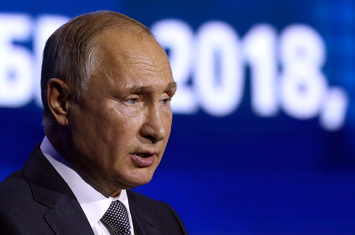 Putin says he wants friendly relations with 'such a global power as the US' https://t.co/HZlpuh9qML