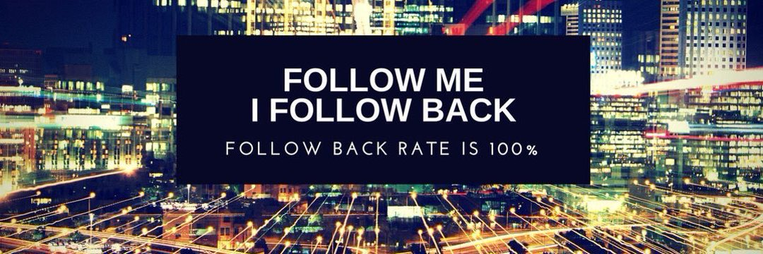 Be 100% sure I will follow you back. #IFBDrive <br>http://pic.twitter.com/3KahsByWmK