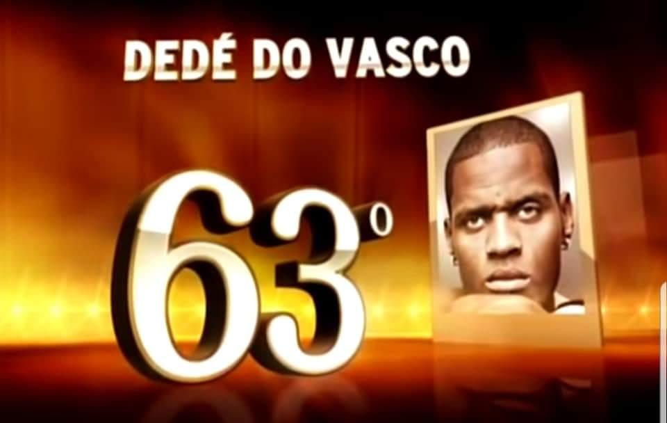 RT @museuvasco: Dedé eleito o 63° brasileiro de todos os tempos | 2011. https://t.co/L0zkNYxCJt