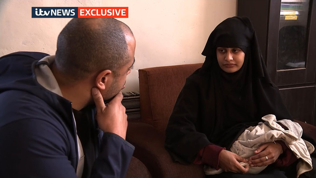IS bride Shamima Begum has messages for her family and a plea to the home secretary after she reads the letter confirming her British citizenship has been revoked.  Watch her interview with @RohitKachrooITV here:  https://t.co/atNmGGkvpi