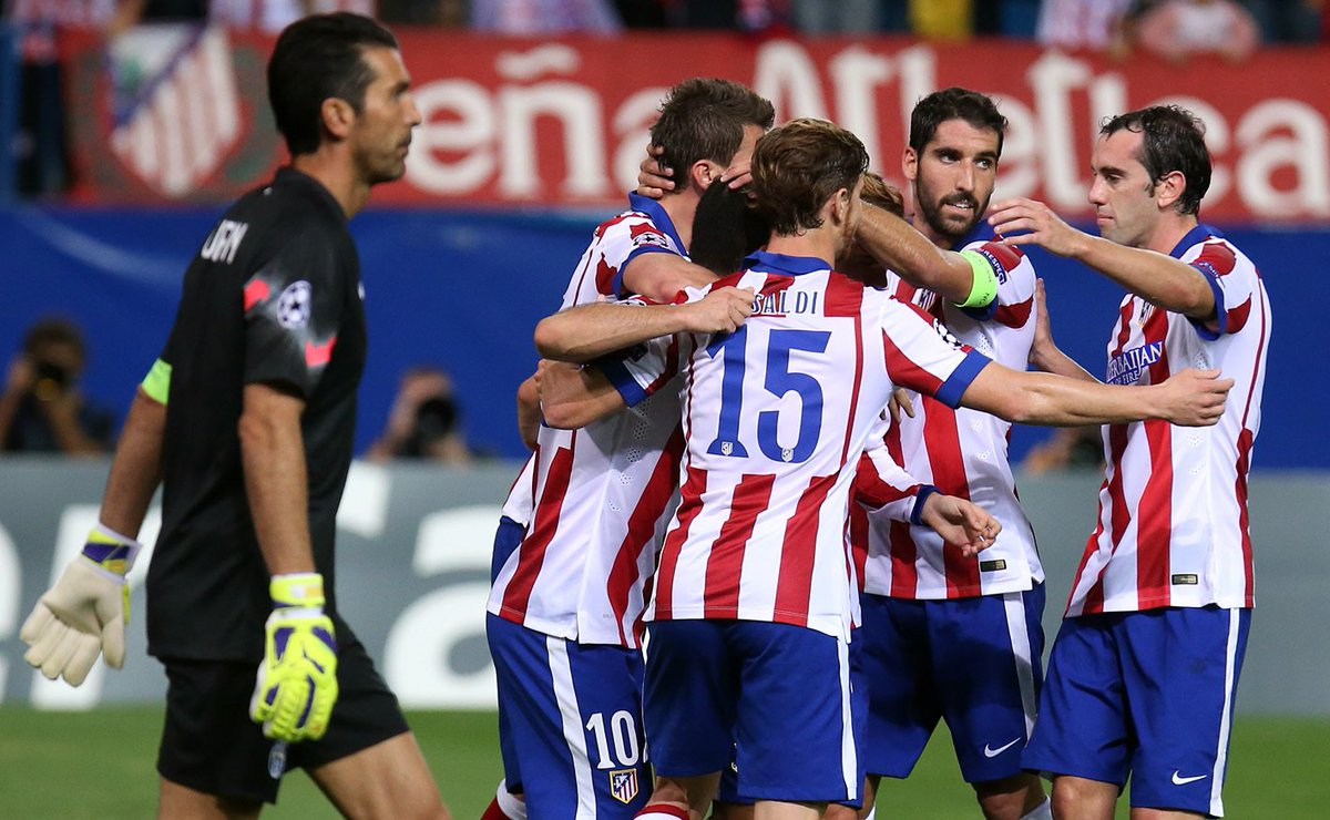 HISTORY  📚 Our team is yet to lose against Juventus in the @ChampionsLeague, in which we've met twice. Both games took place in the 2014-15 group stage. Our team won 1-0 at the Vicente Calderón and drew 0-0 in Italy. #AúpaAtleti #AtletiJuve #UCL