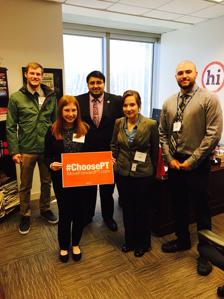 We're excited  you'll be joining us! RT @Kendra_PT4Life: Looking forward to meeting with @NirajAntani again for 2019 @Ohio_PT Advocacy Day! #ChoosePT #PTAdvocacy #OPTA   Save the date Niraj—Thursday, April 4th! 👍